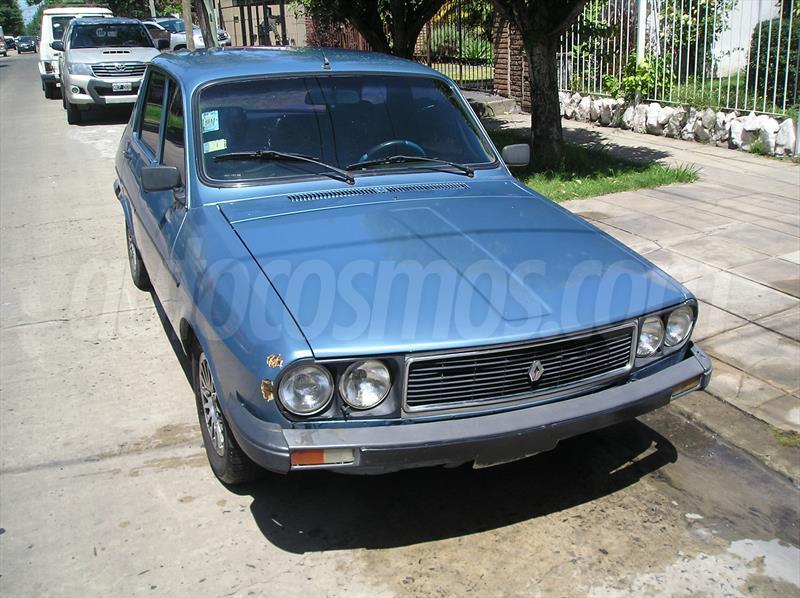 venta Auto Usado Renault 12 TL 1990 color Azul Electrico precio 20