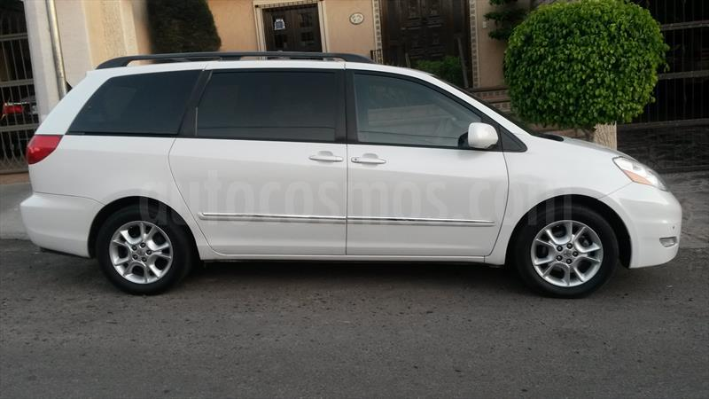 venta auto usado toyota sienna xle 3 5l piel 2006 color blanco precio 145 000. Black Bedroom Furniture Sets. Home Design Ideas