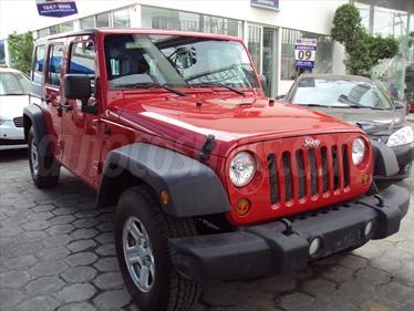 Foto venta Auto Seminuevo Jeep Wrangler Unlimited X 4x2 3.8L Aut (2010) color Rojo precio $268,500