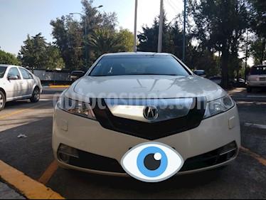Foto venta Auto usado Acura TL 3.7L (2009) color Blanco precio $157,000