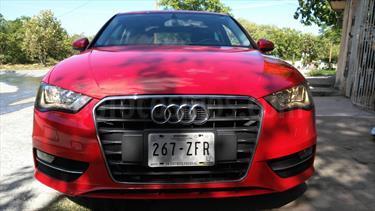 Foto venta Auto usado Audi A3 1.4L Ambiente Plus S-Tronic (2013) color Rojo Sport precio $256,000