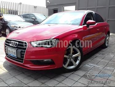 Foto venta Auto Usado Audi A3 1.8L Attraction Aut (2014) color Rojo Bari precio $260,000