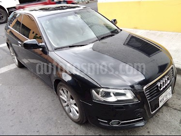 Foto venta Auto usado Audi A3 1.8T FSI Attraction S-tronic (2011) color Negro Phantom precio $155,000