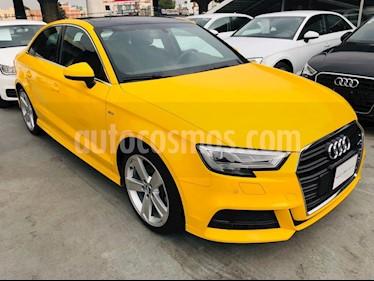 Foto venta Auto Seminuevo Audi A3 2.0L S-Line (2018) color Amarillo precio $580,000
