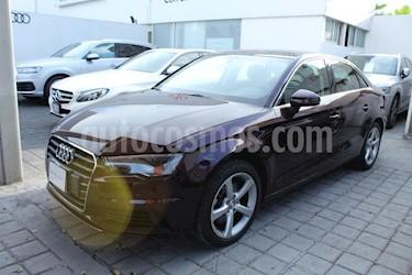 Foto venta Auto Seminuevo Audi A3 Sedan 1.8L Attraction Plus Aut (2016) color Vino Tinto precio $340,000