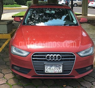 Foto venta Auto usado Audi A4 2.0 TDI Trendy (177hp) (2015) color Rojo Granate precio $290,000