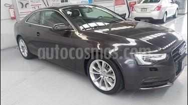 Foto venta Auto Usado Audi A5 2.0T Luxury Multitronic (2014) color Gris Lava precio $369,000