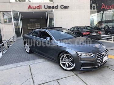 Foto venta Auto Usado Audi A5 2.0T S-Line Quattro (211Hp) (2018) color Gris precio $810,000
