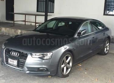 Foto venta Auto Usado Audi A5 Sportback 1.8T Luxury Multitronic (2013) color Gris Cuarzo precio $305,000