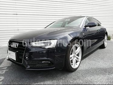 Foto venta Auto Usado Audi A5 Sportback 2.0T S-Line (190Hp) (2014) color Azul Marino precio $434,900