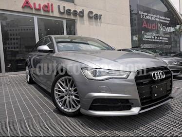 Foto venta Auto usado Audi A6 2.0 TFSI S Line (252hp) (2017) color Gris precio $650,000