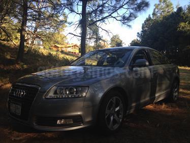 Foto venta Auto usado Audi A6 3.0 Elite Tiptronic Quattro (2010) color Gris Plata  precio $265,000