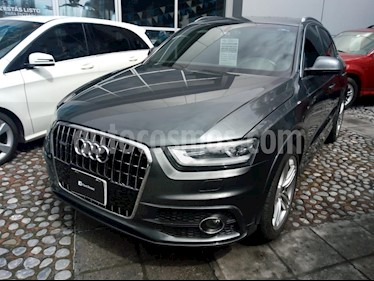 Foto venta Auto Seminuevo Audi Q3 S-Line Plus (211Hp)   (2013) color Gris Oscuro precio $310,000