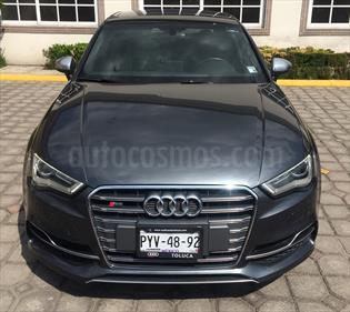 Foto venta Auto usado Audi Serie S S3 2.0T Quattro S-Tronic (2015) color Gris precio $470,000