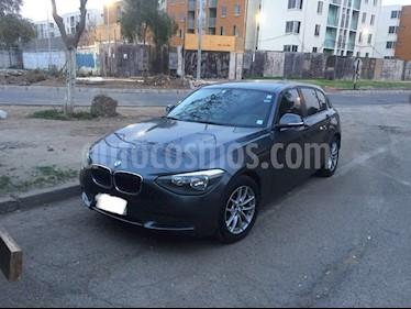 BMW Serie 1 116i 5P usado (2012) color Gris Oscuro precio $9.500.000