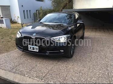 Foto venta Auto usado BMW Serie 1 118i Sport Line 5P (2013) color Negro precio $820.000