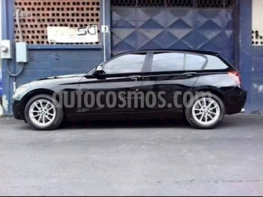 BMW Serie 1 1.6 AT 5P Executive usado (2013) color Negro precio $9.800.000
