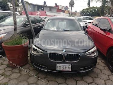 Foto venta Auto Usado BMW Serie 1 3P 118i Sport Line (2015) color Gris Mineral precio $285,000