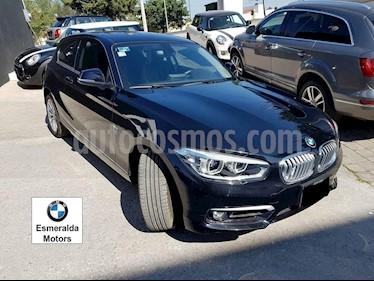 Foto venta Auto Seminuevo BMW Serie 1 3P 118i Urban Line (2017) color Negro Zafiro precio $365,000