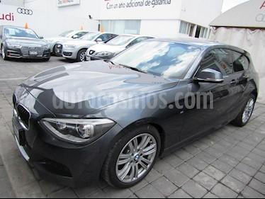 Foto venta Auto Usado BMW Serie 1 3P 118iA M Sport (2015) color Gris precio $285,000