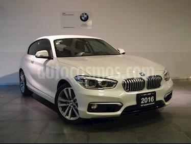Foto venta Auto Usado BMW Serie 1 3P 120iA Urban Line (2016) color Blanco Mineral precio $305,000