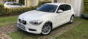 Foto venta Auto Usado BMW Serie 1 5P 118iA (2015) color Blanco Alpine precio $275,000