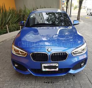 Foto venta Auto Seminuevo BMW Serie 1 5P 120i M Sport (2017) color Azul precio $460,000