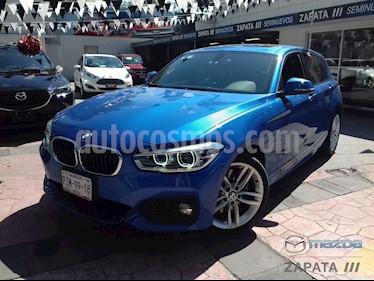 Foto venta Auto Usado BMW Serie 1 5P 120iA M Sport (2017) color Azul Liquido precio $435,000