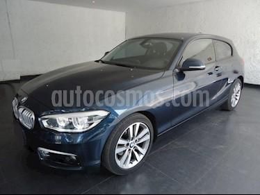Foto venta Auto Usado BMW Serie 1 5P 120iA Sport Line (2016) color Azul precio $335,000