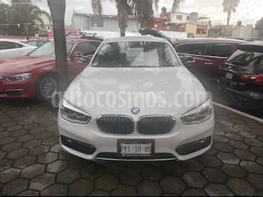 Foto venta Auto Usado BMW Serie 1 5P 120iA Sport Line (2016) color Blanco Mineral precio $330,000
