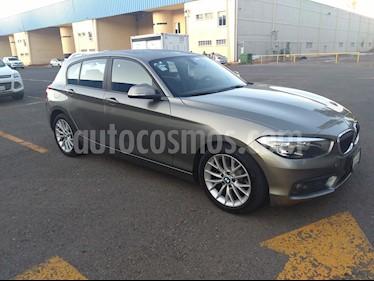 Foto venta Auto usado BMW Serie 1 5P 120iA (2016) color Gris Mineral precio $315,000