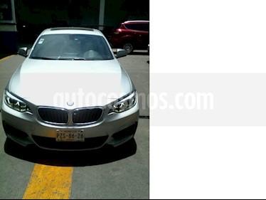 Foto venta Auto usado BMW Serie 2 235iA M Sport (2015) color Plata precio $446,000