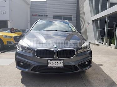 Foto venta Auto Seminuevo BMW Serie 2 Gran Tourer Luxury Line 220iA Aut (2017) color Gris Mineral precio $400,000