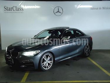 Foto venta Auto Usado BMW Serie 2 M235iA M Sport Aut (2015) color Gris precio $499,000