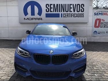 Foto venta Auto Seminuevo BMW Serie 2 M235iA M Sport Aut (2016) color Azul precio $510,000