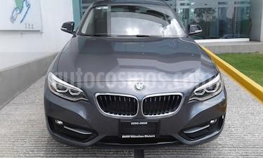 Foto venta Auto Usado BMW Serie 3 320iA Sport Line (2016) color Gris Mineral precio $350,000