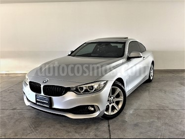 Foto venta Auto Seminuevo BMW Serie 4 420iA Coupe Aut (2017) color Plata Titanium precio $490,000