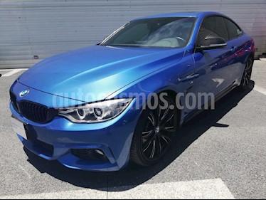 Foto venta Auto Usado BMW Serie 4 435iA Coupe M Sport Aut (2015) color Azul precio $570,000