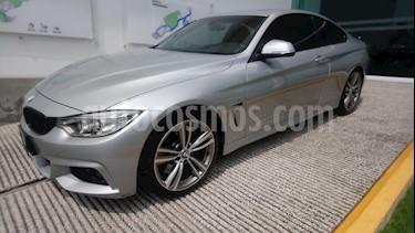 Foto venta Auto Seminuevo BMW Serie 4 435iA Coupe M Sport Aut (2015) color Plata precio $498,500