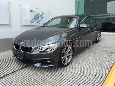 Foto venta Auto Seminuevo BMW Serie 4 435iA Coupe M Sport Aut (2015) color Gris Mineral precio $498,501
