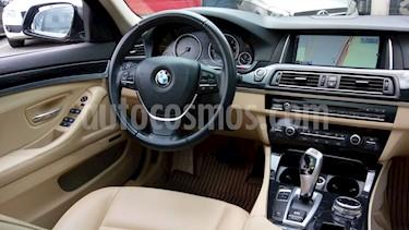 Foto venta Auto Usado BMW Serie 5 520iA (2014) color Grafito precio $320,000