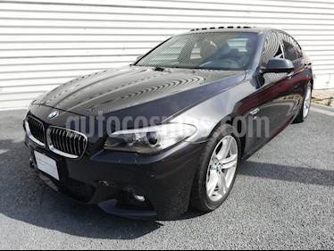 Foto venta Auto Seminuevo BMW Serie 5 528iA M Sport (2014) color Gris Sophisto precio $385,000