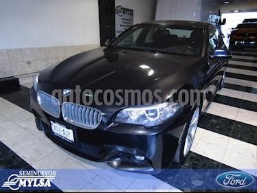 Foto venta Auto Usado BMW Serie 5 535iA M Sport (2015) color Gris precio $560,000