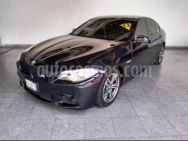 Foto venta Auto Seminuevo BMW Serie 5 535iA M Sport (2012) color Azul Noche precio $340,000