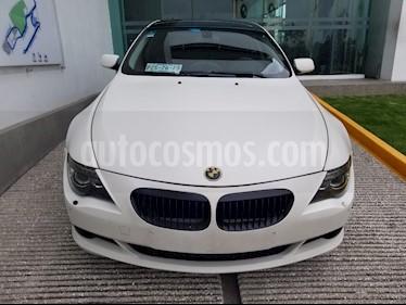 Foto venta Auto Usado BMW Serie 6 650iA Coupe (2008) color Blanco Alpine precio $265,000
