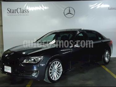 Foto venta Auto Seminuevo BMW Serie 7 750iA (2013) color Azul precio $759,000