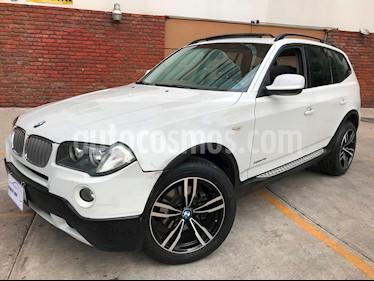 Foto venta Auto Usado BMW X3 2.5i Top (2011) color Blanco Alpine precio $188,000
