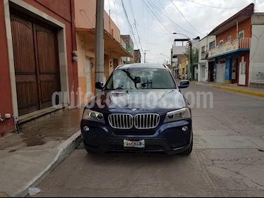 Foto venta Auto usado BMW X3 2.5i Top (2012) color Azul Metalizado precio $259,000