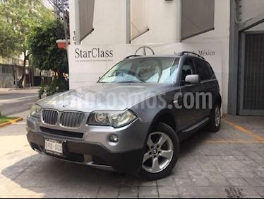 Foto venta Auto Seminuevo BMW X3 2.5siA Lujo (2009) color Gris precio $185,000