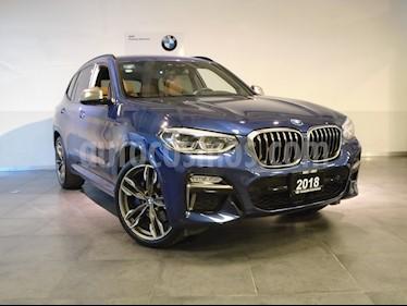 Foto venta Auto Usado BMW X3 M40iA (2018) color Azul Monaco precio $879,000